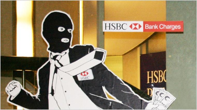 HSBC Bank charges